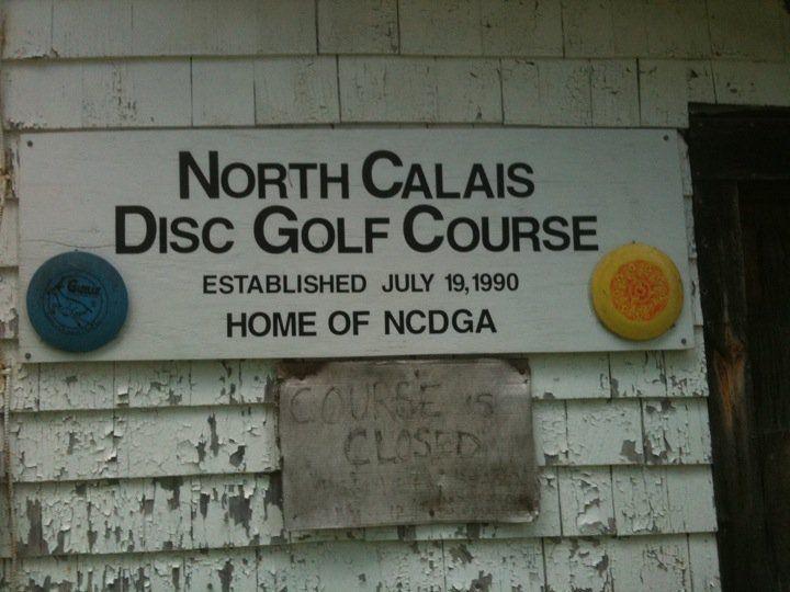 North Calais disc golf course