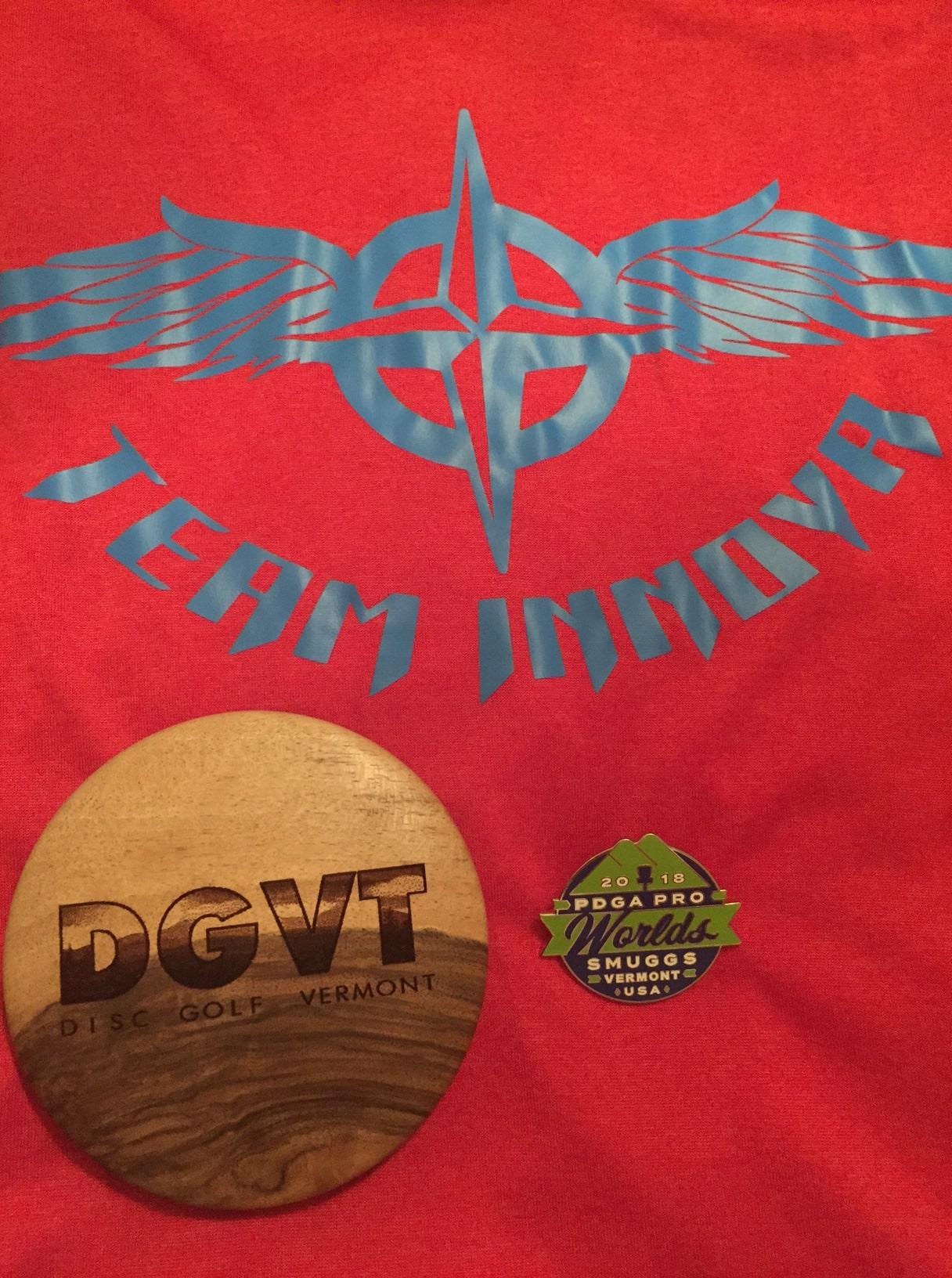 Team Innova DGVT branded mini