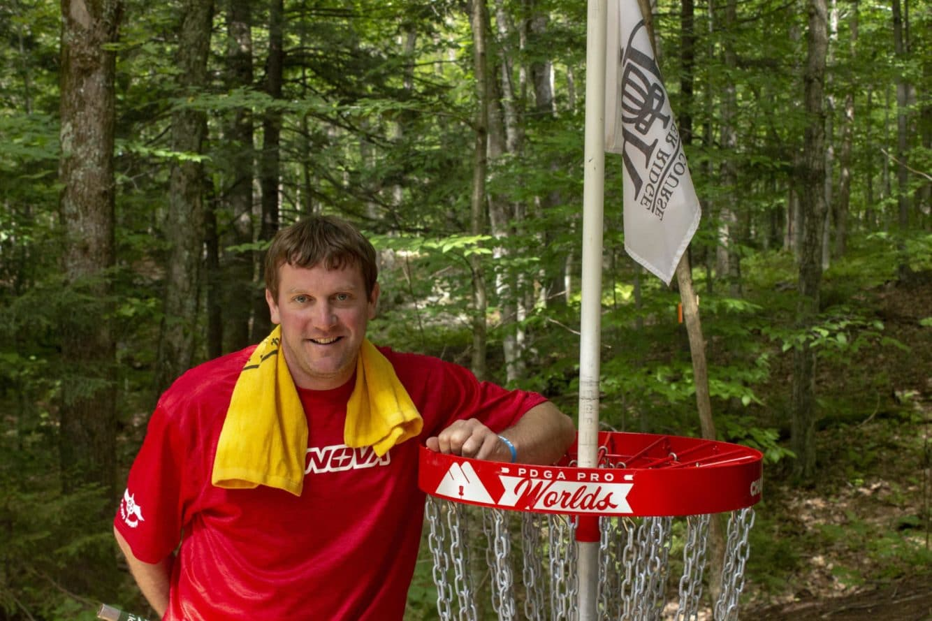 Chris young Owner of Disc Golf Vermont