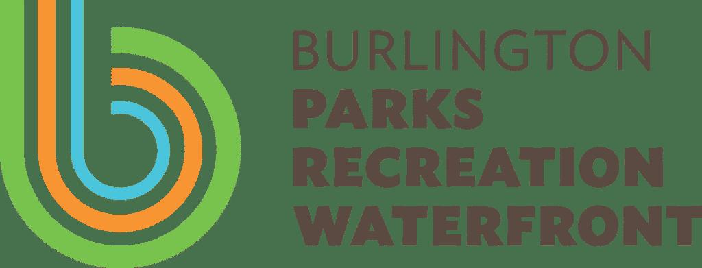 Burlington Parks Recreation Waterfront logo