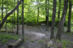 White river Disc golf course Hole # 2 Green