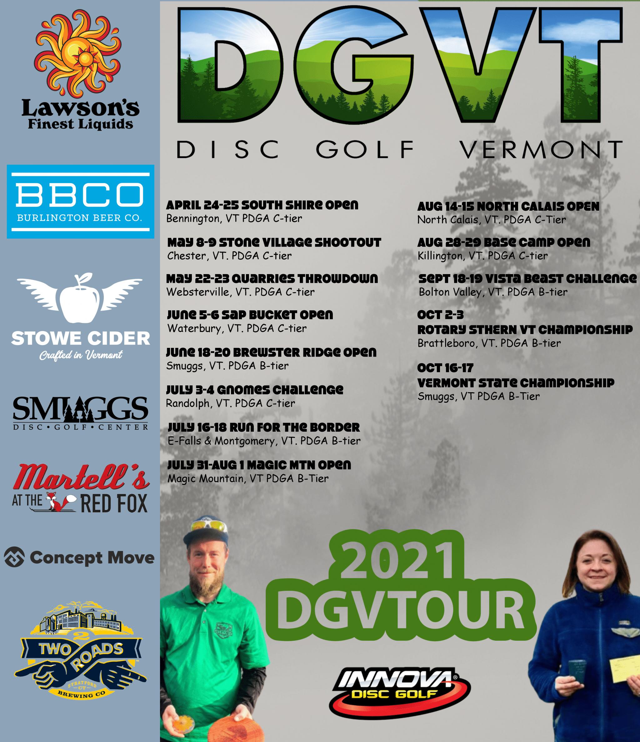 DGVT Tour schedule