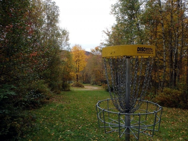Hole #9 Black Falls Disc Golf Course